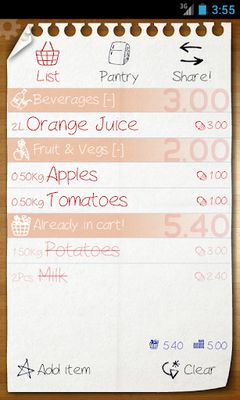 Image 2 of Shopping List - ListOn Free