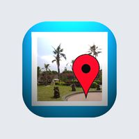 Ícone do GPS Photo Viewer