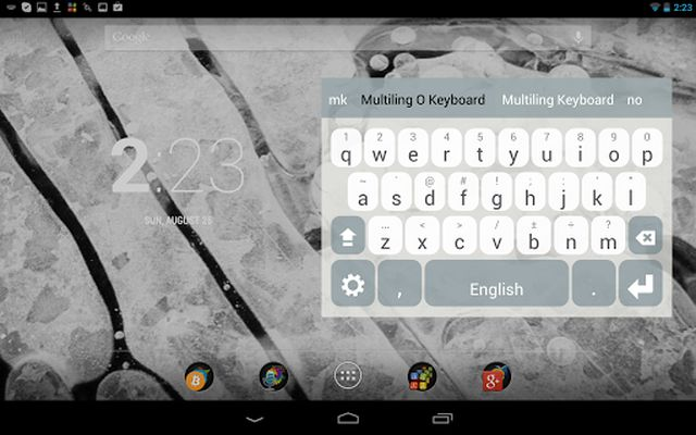 Image 8 of Multiling O Keyboard + emoji