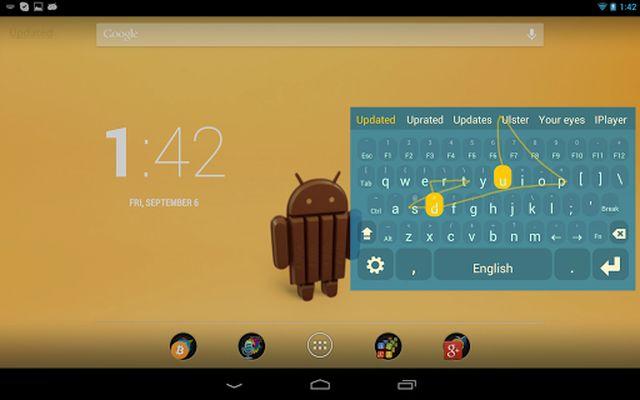 Image 1 of Multiling O Keyboard + emoji