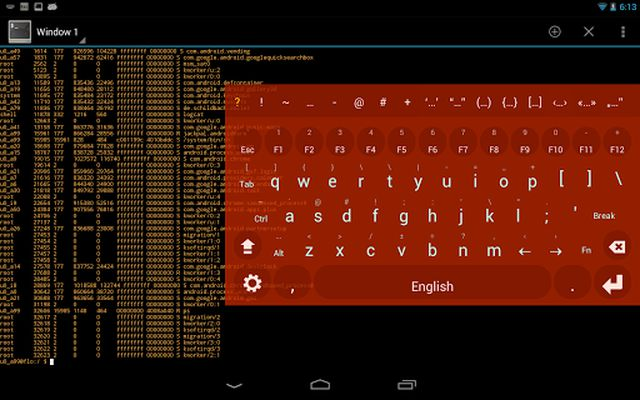 Picture of Multiling O Keyboard + emoji