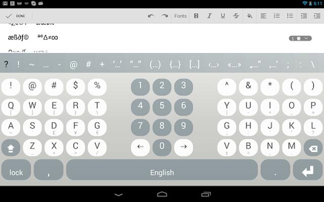 Screenshot 21 of Multiling O Keyboard + emoji