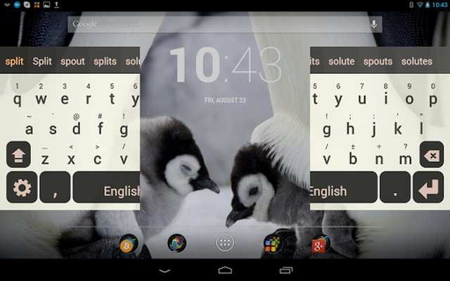 Screenshot 11 of Multiling O Keyboard + emoji