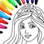 Colorir princesa jogo