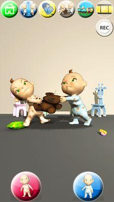 Image 9 of Talking Twins baby - Babsy