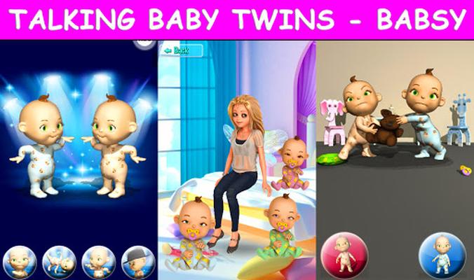 Image 23 of Talking Twins baby - Babsy