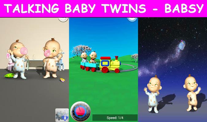 Image 22 of Talking Twins baby - Babsy