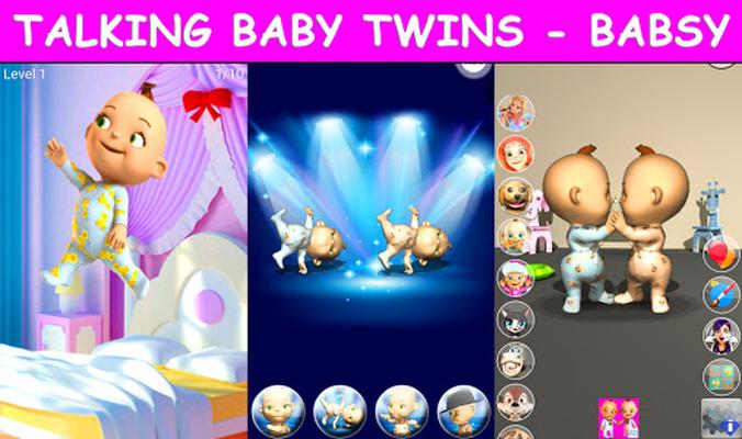 Image 21 of Talking Twins baby - Babsy