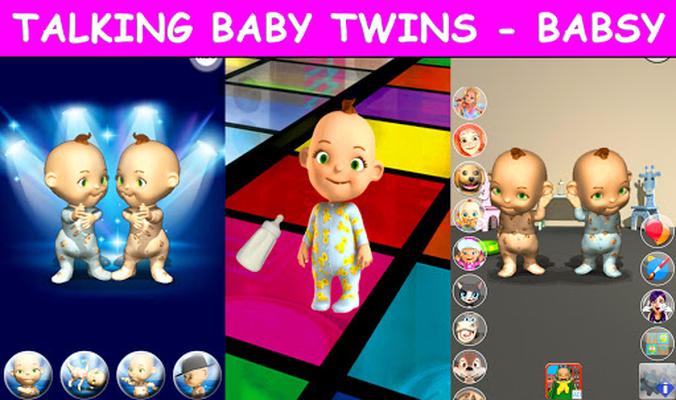 Image 20 of Talking Twins baby - Babsy