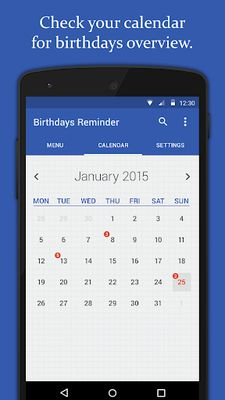 Image 4 of Birthday Reminder