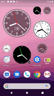 Image 3 of Simple Analog Clock [Widget]