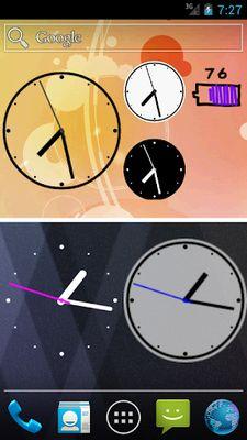 Simple Analog Clock [Widget] screenshot