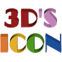 3D ICON Go launcher theme 10.2