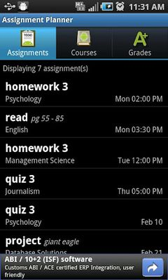 Image 7 of Assignment Planner FREE
