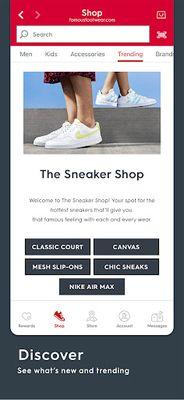 Famous Footwear Mobile Image 1