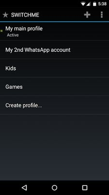Image 1 of SwitchMe Multiple Accounts