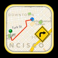 GPS Driving Route apk icon