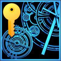 Hypno Clock Live Wallpaper PRO icon