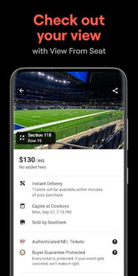 Image 1 of SeatGeek - Tickets to Sports, Concerts, Broadway