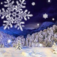 Kar yağışı Canlı Duvar Kağıdı Simgesi