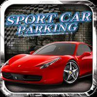 Parkplatz 3D Sportwagen Icon
