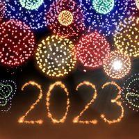 Ícone do Fogos de artifício de ano novo 2020
