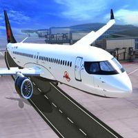 Aeroplane Parking 3D Simgesi