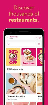 Image 2 of foodpanda - Food Delivery