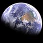 Earth & Moon in HD Gyro 3D Parallax Live Wallpaper