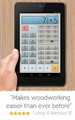 Image 1 of Fractions Calculator Plus