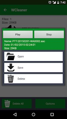 WCleaner Image 2 for WA (No Ad)