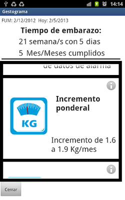 Image 20 of CONAMED Gestogram