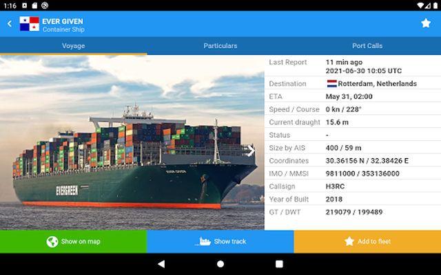VesselFinder Pro Image