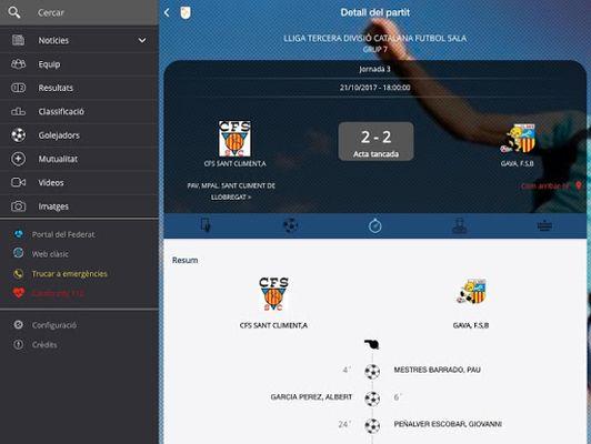 Image of Federació Catalana Futbol FCF