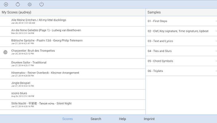 Scorio Music Notator 2.0 image