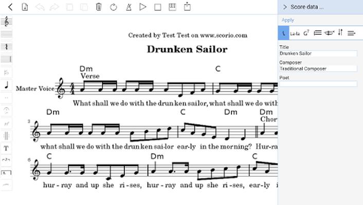 Scorio Music Notator 2.0 image 11