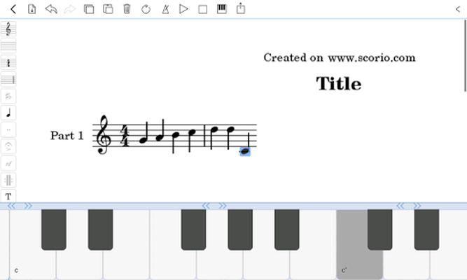 Scorio Music Notator 2.0 image 7