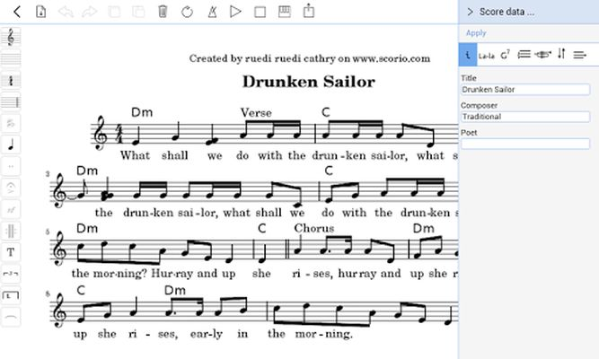 Scorio Music Notator 2.0 image 5