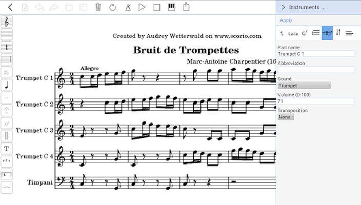Scorio Music Notator 2.0 image 1