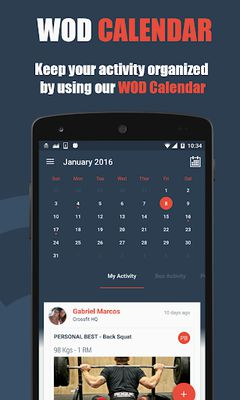 Image 6 of WODBook - Your record of WODs