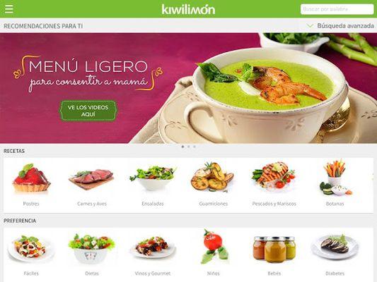 Kiwilimón Recipes Screenshot Apk 1