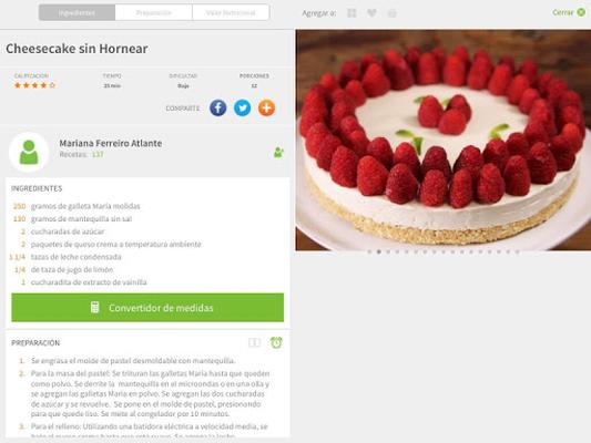 Kiwilimón Recipes Screenshot Apk 12