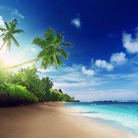 Icoană Plajă Imagini de Fundal