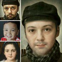 Ícone do Multi Face Blender