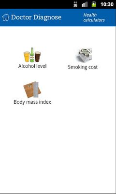 Image 1 of Doctor Diagnose Symptoms Check