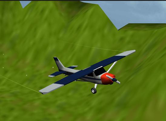 Flugsimulator 3d