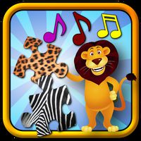 Kinder Tier Puzzle Icon