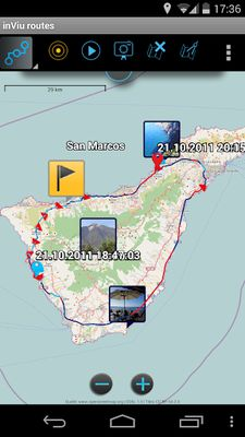 Image 7 of inViu routes - GPS OSM tracking