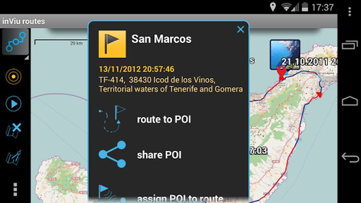 Image 5 of inViu routes - GPS OSM tracking