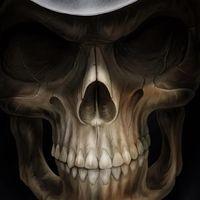 Kafatası Canlı Duvar Kağıdı Simgesi